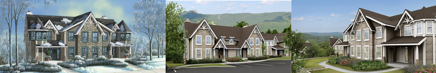 Mount Snow Southern Vermont Boulder Ridge Townhouses